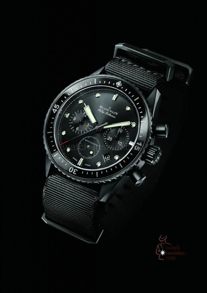 Blancpain Fifty Fathoms Bathyscaphe Flyback Chronographe