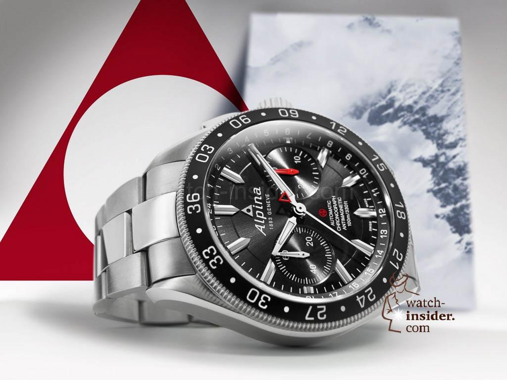 The Alpina Alpiner 4 Chronograph