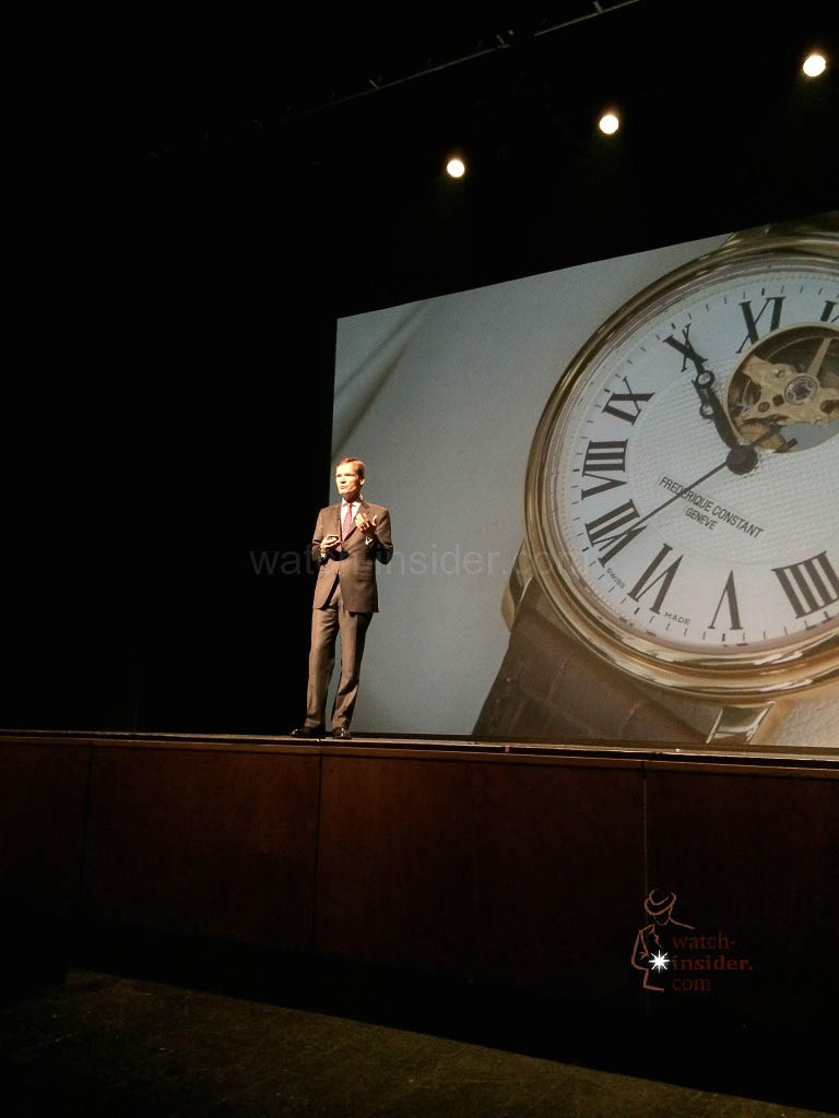 Peter Stas revisited Frederique Constant's brand building over the past ten years