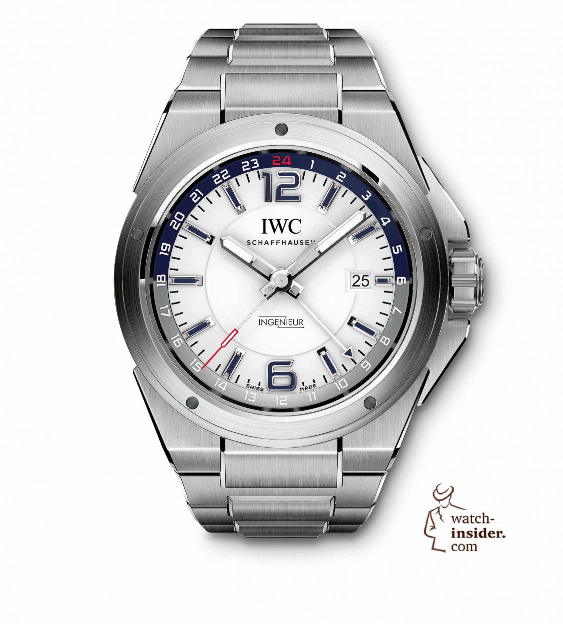 ec5a0a6b474 IWC Ingenieur Dual Time. Discover the new Ingenieur Automatic Carbon  Performance ...
