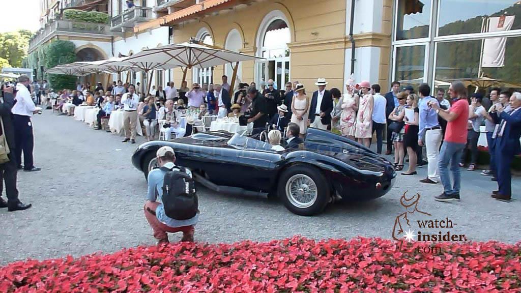 This is the winner of the 2014 Concorso d´Eleganza Villa d´Este: The 1956 Maserati 450S