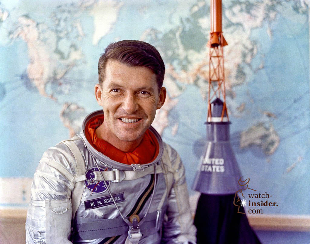 Omega Speedmaster First Omega in space from the year 2012 Astronaut Wally Schirra
