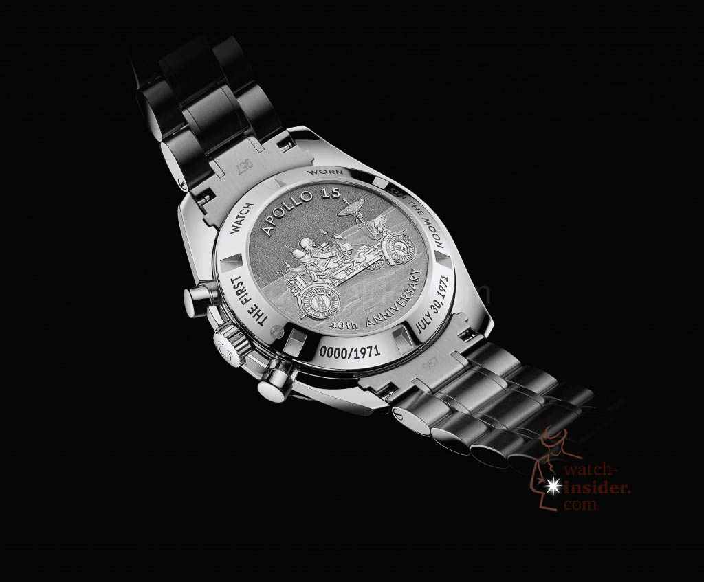 Omega Speedmaster Moonwatch 40th Anniversary Apollo 15 from the year 2011