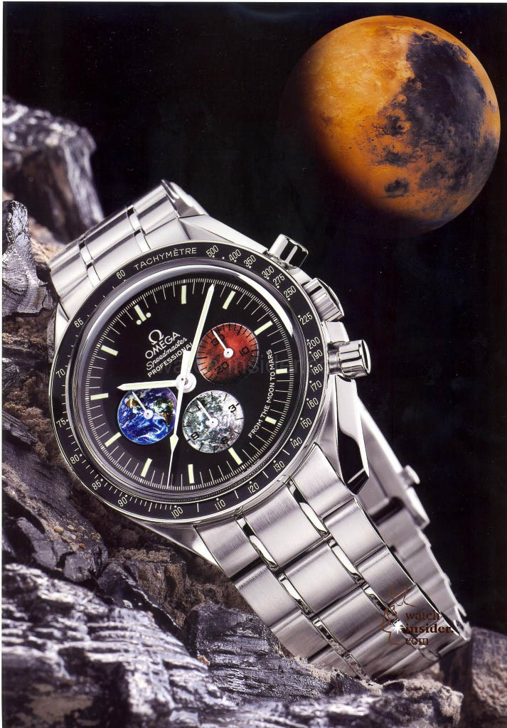 Omega Speedmaster from Moon to Mars from the year 2004