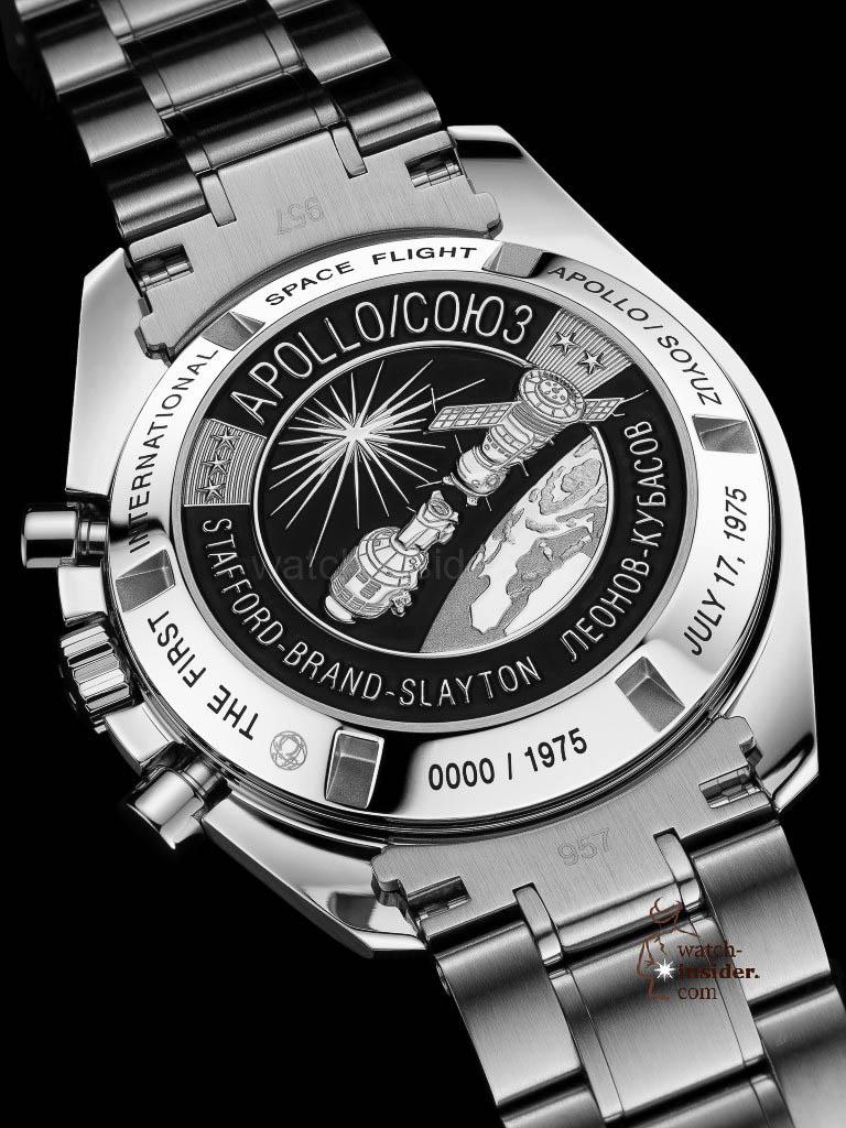 Omega Speedmaster Speedmaster Apollo Soyuz from the year 2010