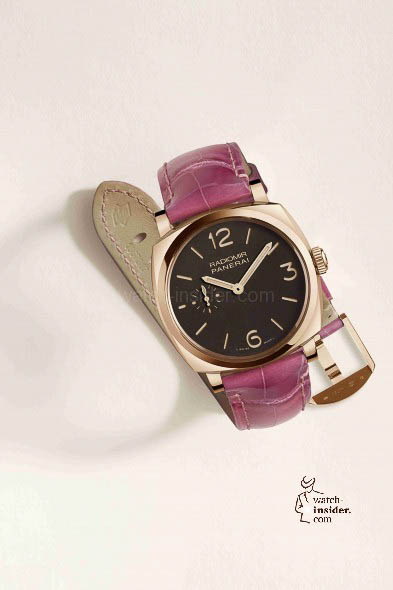 Officine Panerai presents a new collection of coloured straps in alligator