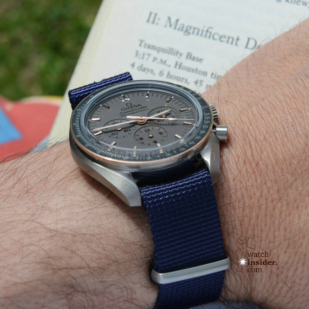 Omega Speedmaster Professional Apollo 11 45th Anniversary Limited Edition. Copyright: Harald K. Vienna