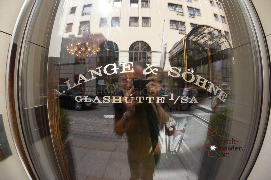 A. Lange & Söhne boutique in Dresden