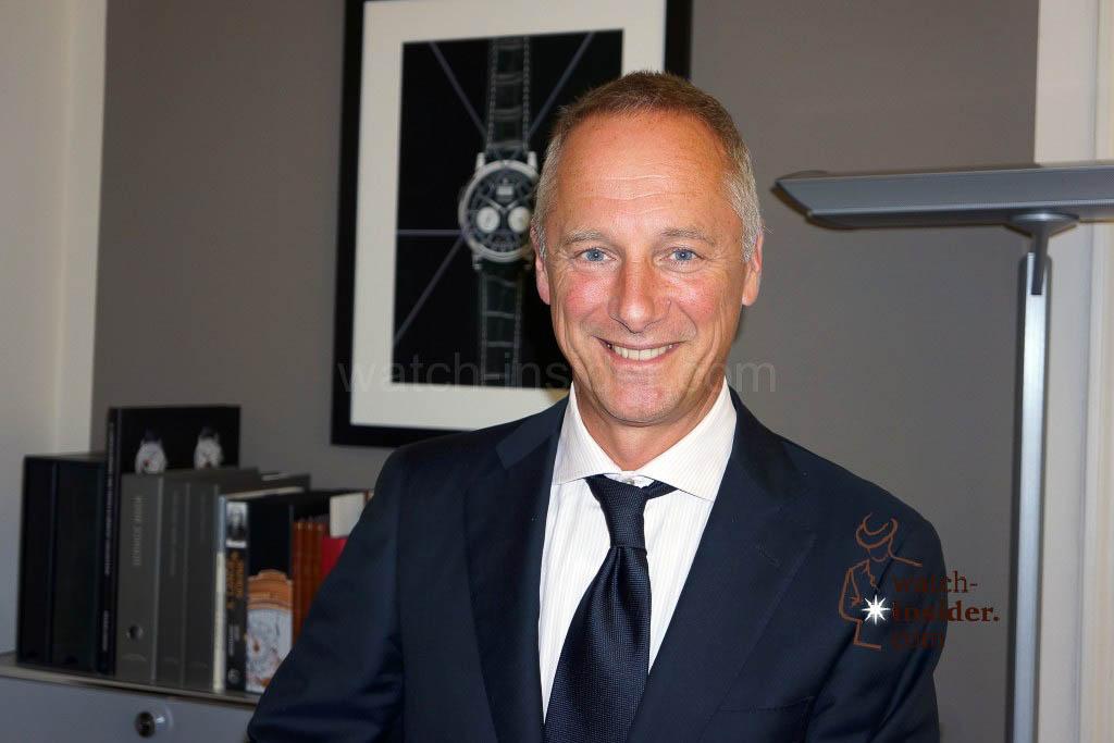 A. Lange & Söhne CEO Wilhelm Schmid