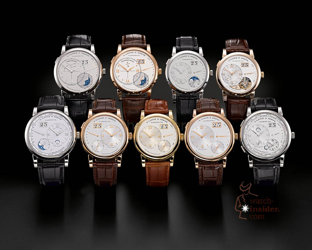The A. Lange & Söhne Lange 1 family