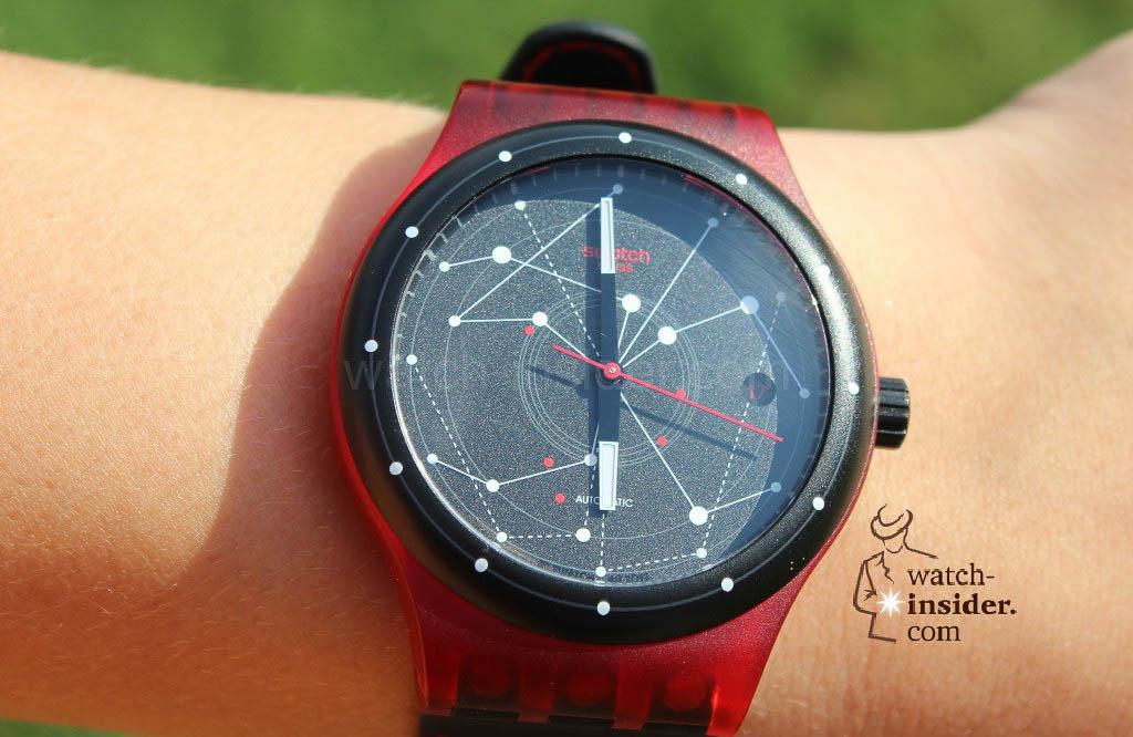 Swatch Sistem51 Red