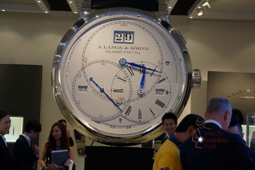 Impressions from Watches&Wonders 2014 in Hong Kong: A. Lange & Söhne