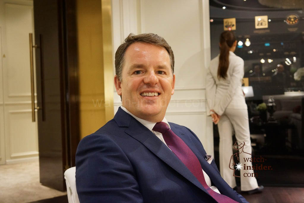 Impressions from Watches&Wonders 2014 in Hong Kong: Baume & Mercier CEO Alain Zimmermann