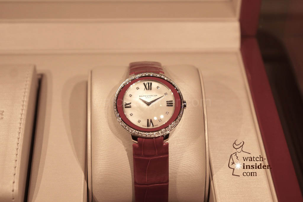 Impressions from Watches&Wonders 2014 in Hong Kong: Baume & Mercier