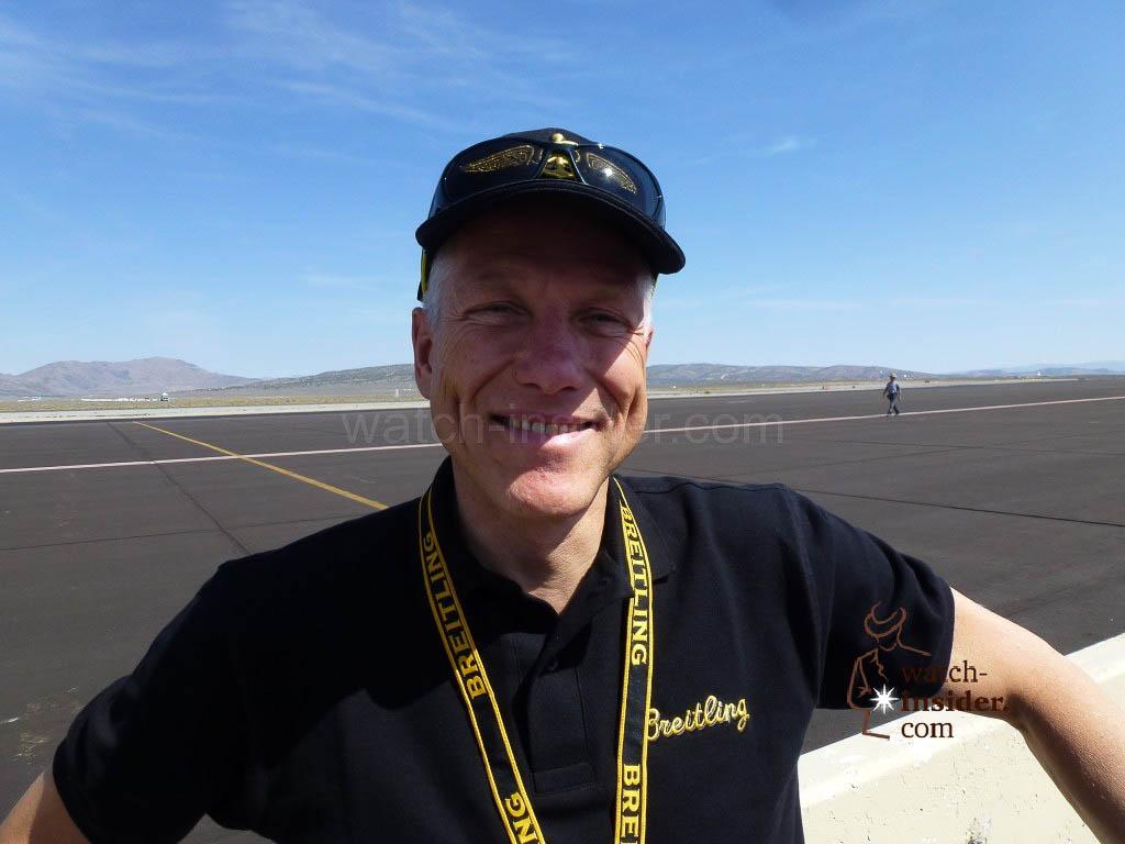 Breitling Vice President Jean-Paul Girardin