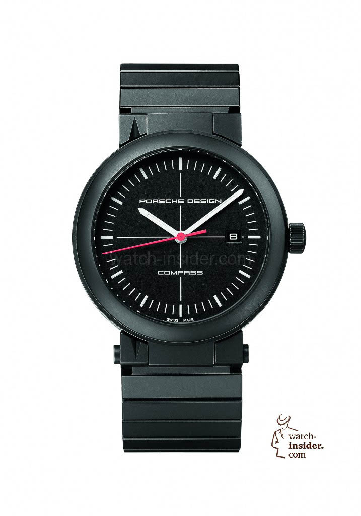 Porsche Design P'6520 Heritage Compass Watch from the Original 7087 done together with IWC