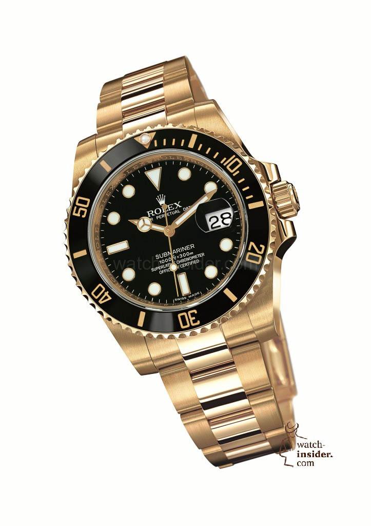 Rolex Submariner Date Yellow Gold