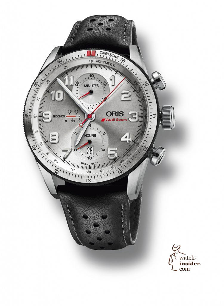 The new Oris Audi Sport Limited Edition has been tailored to reflect Audi road-car dashboard instrument panels