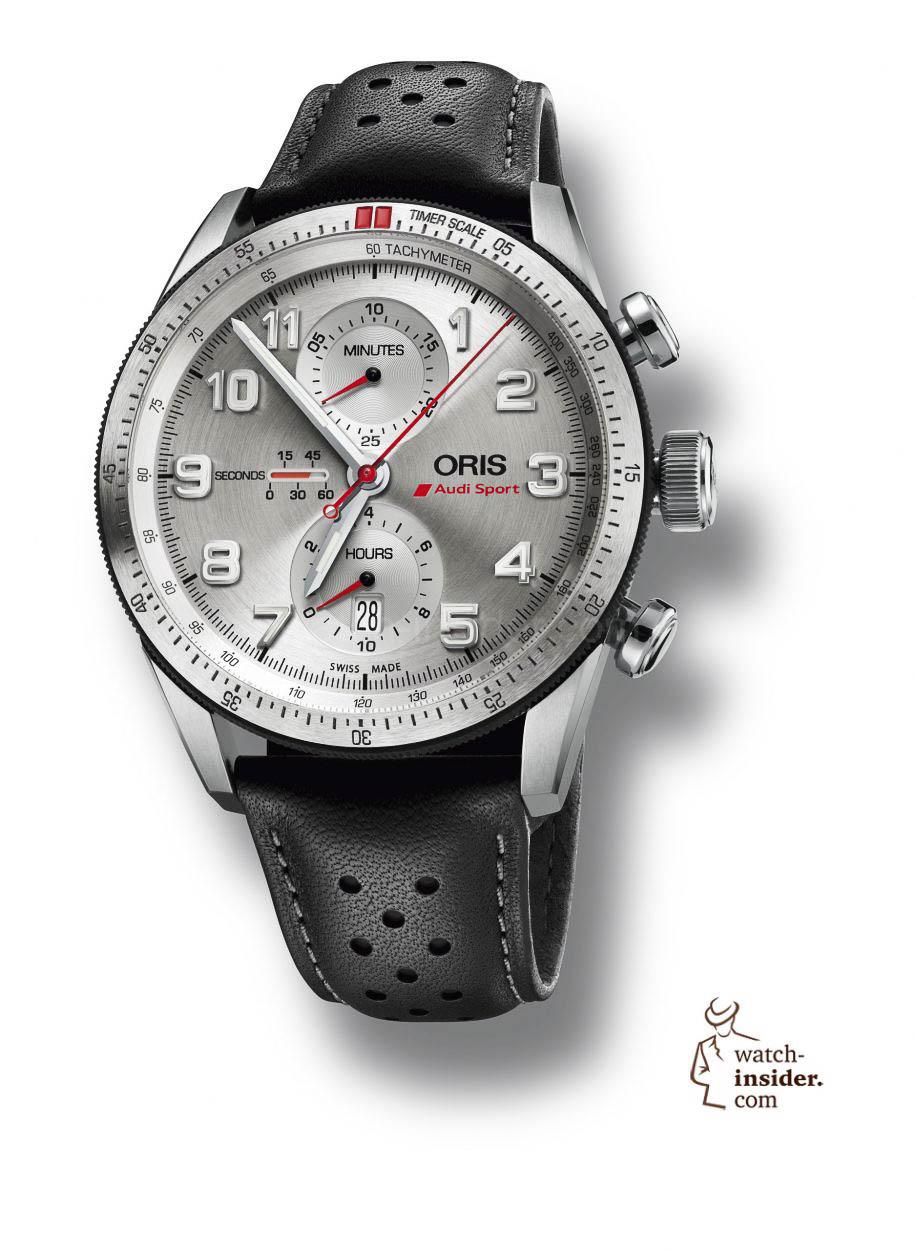 Oris Unveils The Audi Sport Limited Edition WatchInsidercom - Audi watch