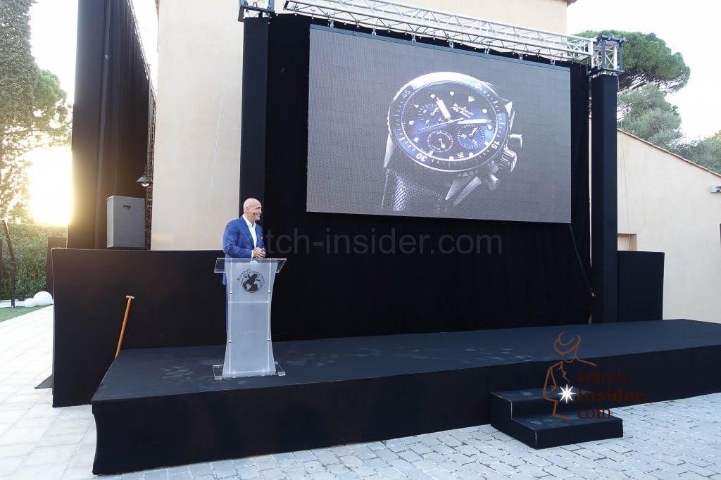 Marc A. Hayek, President & CEO of Blancpain