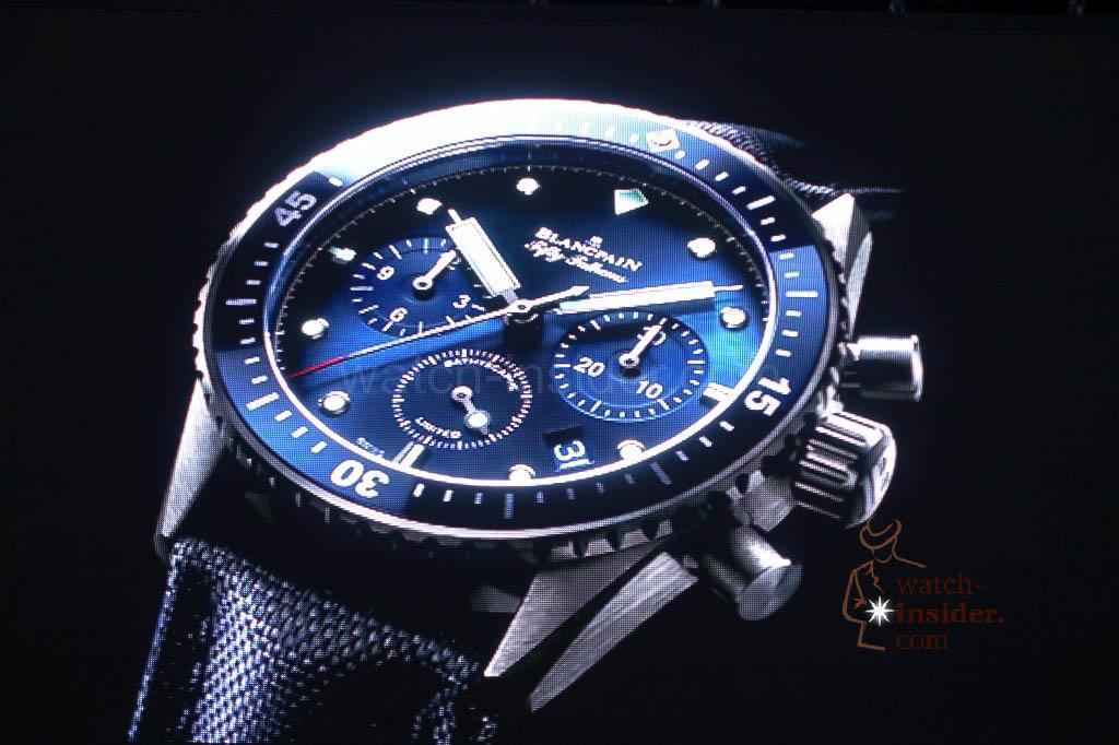 Blancpain Ocean Commitment Bathyscaphe Chronographe Flyback