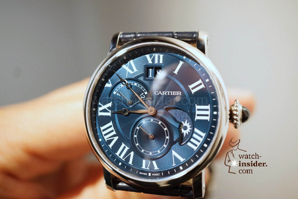 CARTIER Rotonde de Cartier Second Time-Zone Day/Night equipped with in-house calibre 1904-Fu Mc