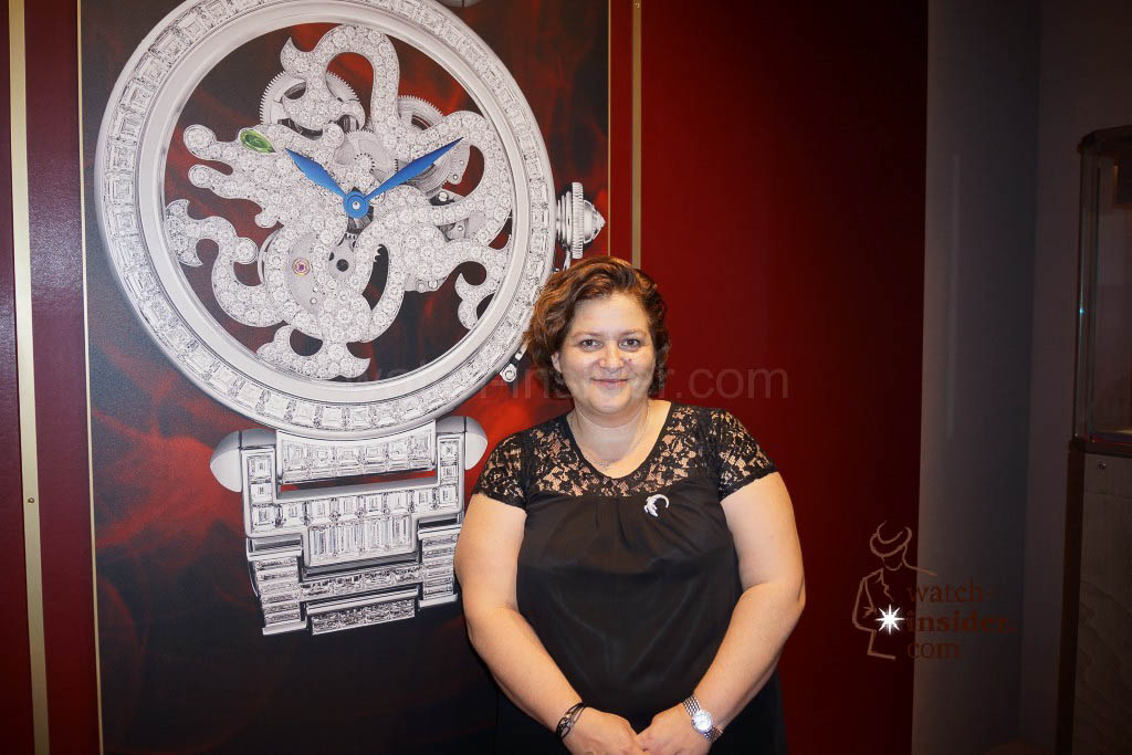 Carole Forestier-Kasapi, Head of Fine Watchmaking at Cartier