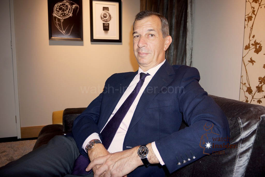 Philippe Léopold-Metzger, CEO Piaget