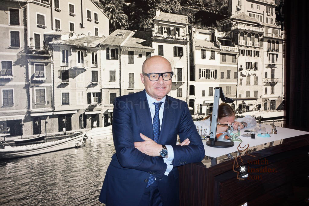 Georges Kern, CEO IWC Schaffhausen, at Watches&Wonders 2014 in Hong Kong.