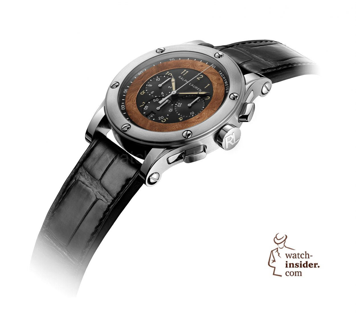 64f75909599f Pre SIHH 2015  The Ralph Lauren Automotive Chronograph equipped with ...