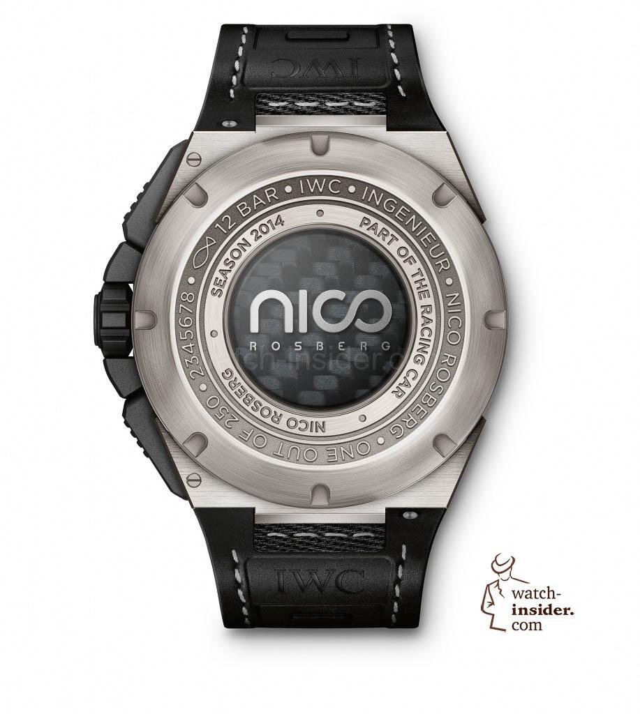 The Ingenieur Chronograph Edition ''Nico Rosberg'' (Ref. IW379603) from IWC Schaffhausen