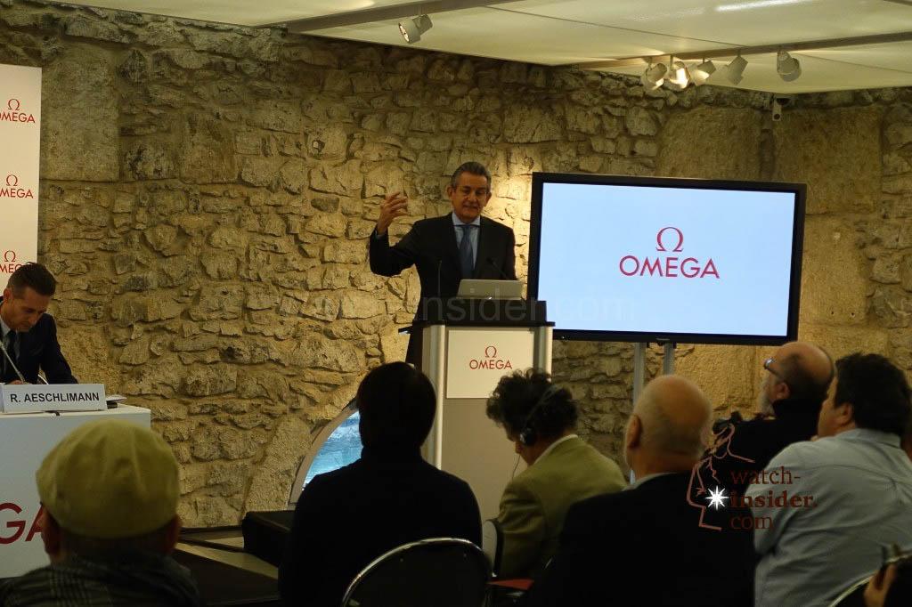 Stephen Urquhart, President of Omega