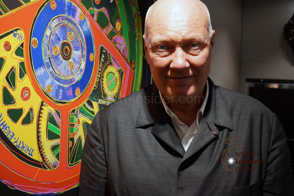 Jean-Claude Biver CEO LVMH watch division