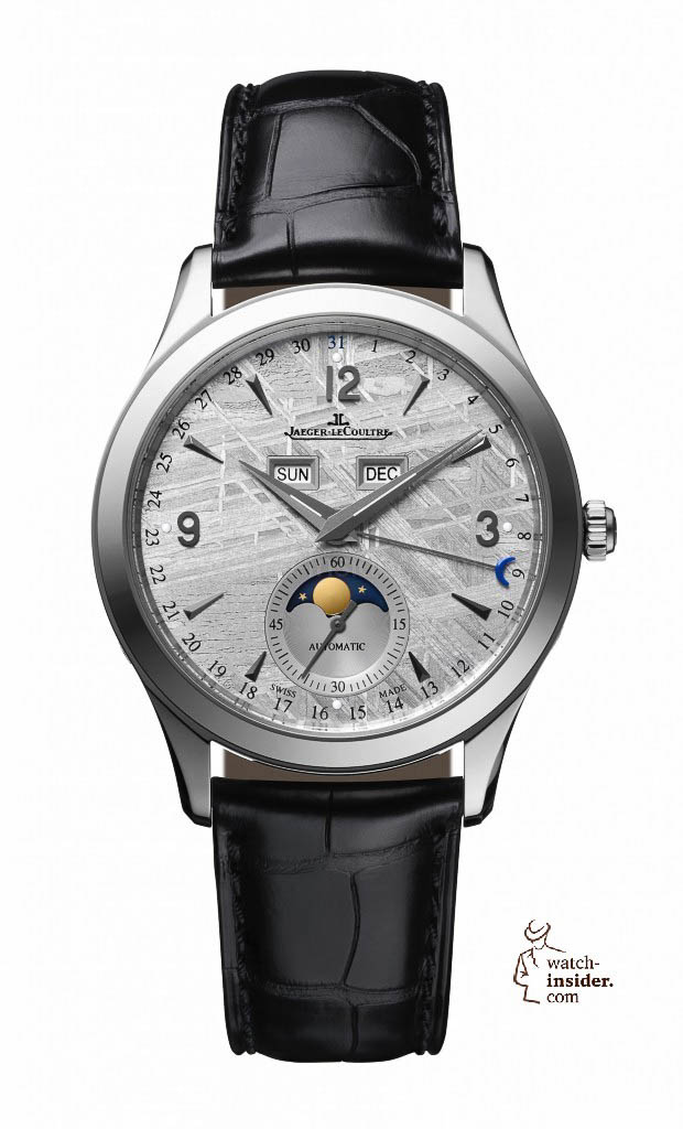 Jaeger-LeCoultre Master Calendar with a meteorite stone dial