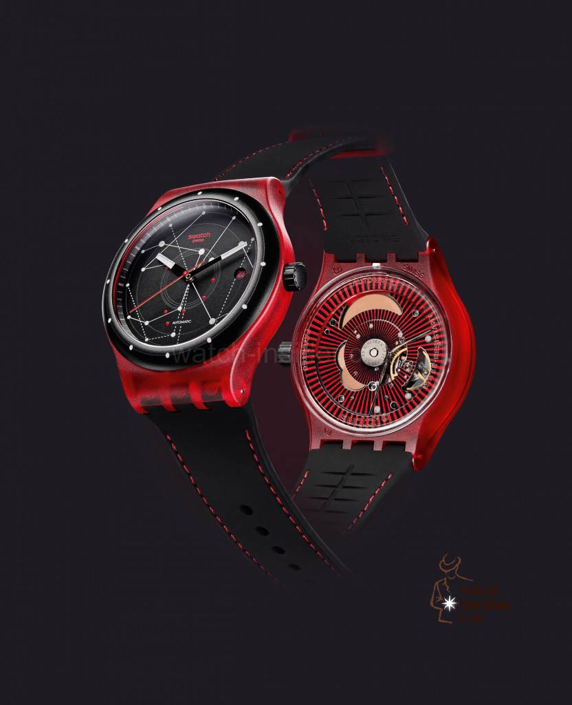 The Swatch Sistem Red