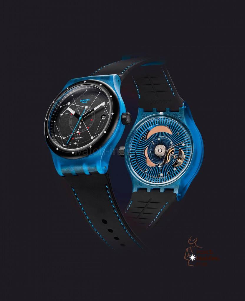 Swatch Sistem Blue