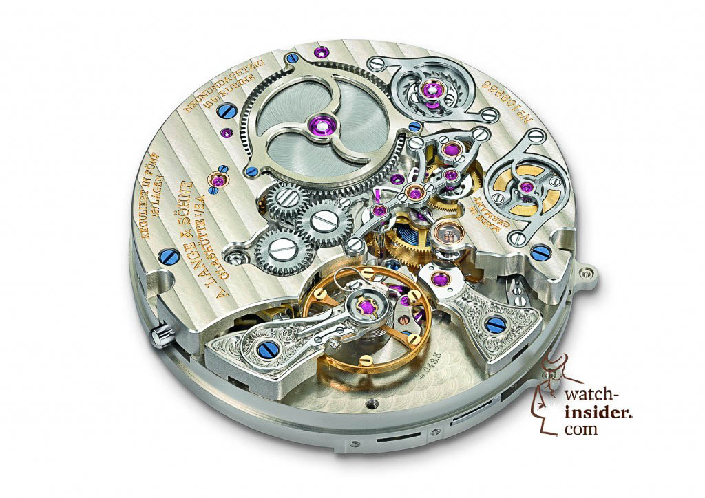 A. Lange & Söhne Zeitwerk Minute Repeater. Lange manufacture calibre L043.5,