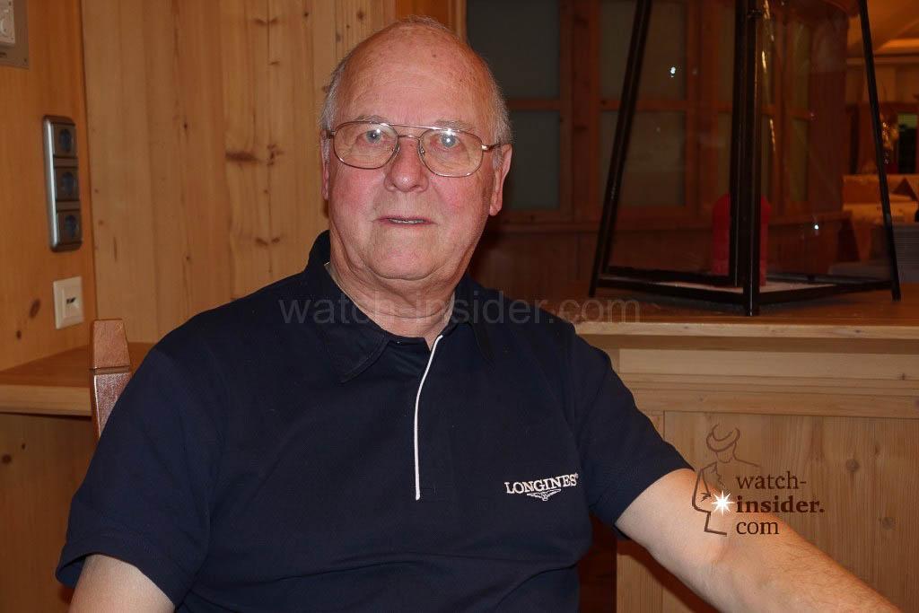 Timekeeping legend Peter Hürzeler