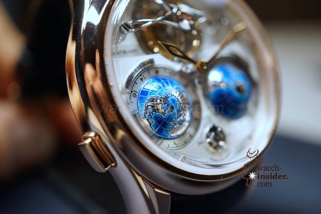 Montblanc Villeret Collection Tourbillon Cylindrique Geosphères Vasco da Gama