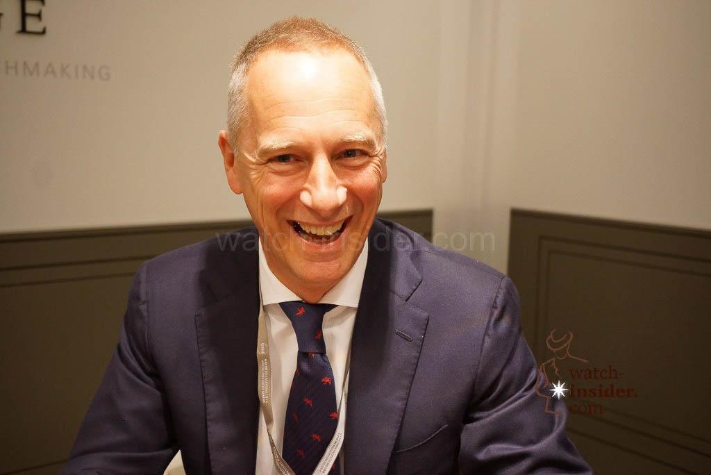 Wilhelm Schmid, CEO A. Lange & Söhne