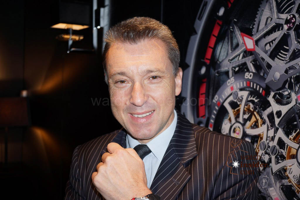 Jean-Marc Pontroué, CEO Roger Dubuis