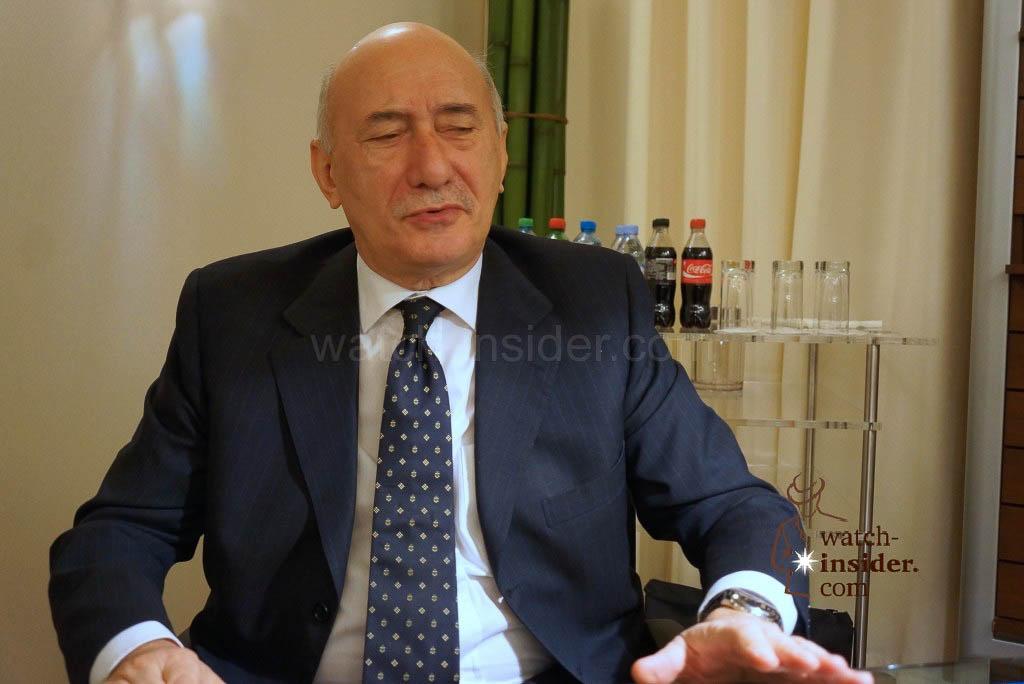 Angelo Bonati, CEO Officine Panerai
