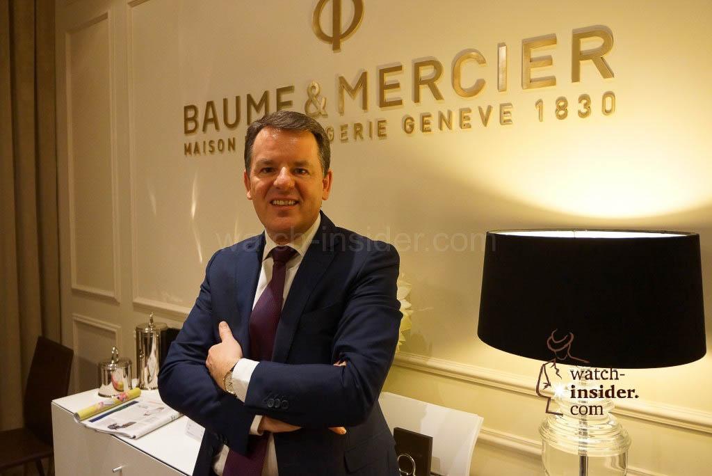 Alain Zimmermann, CEO of Baume & Mercier