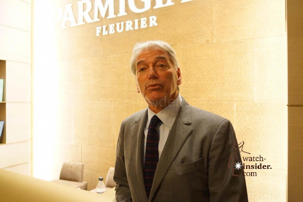 Jean-Marc Jacot, CEO of Parmigiani Fleurier