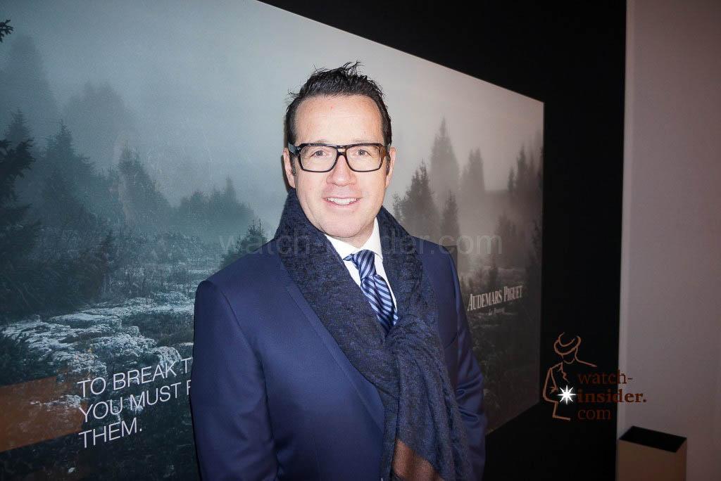 François-Henry Bennahmias, CEO Audemars Piguet