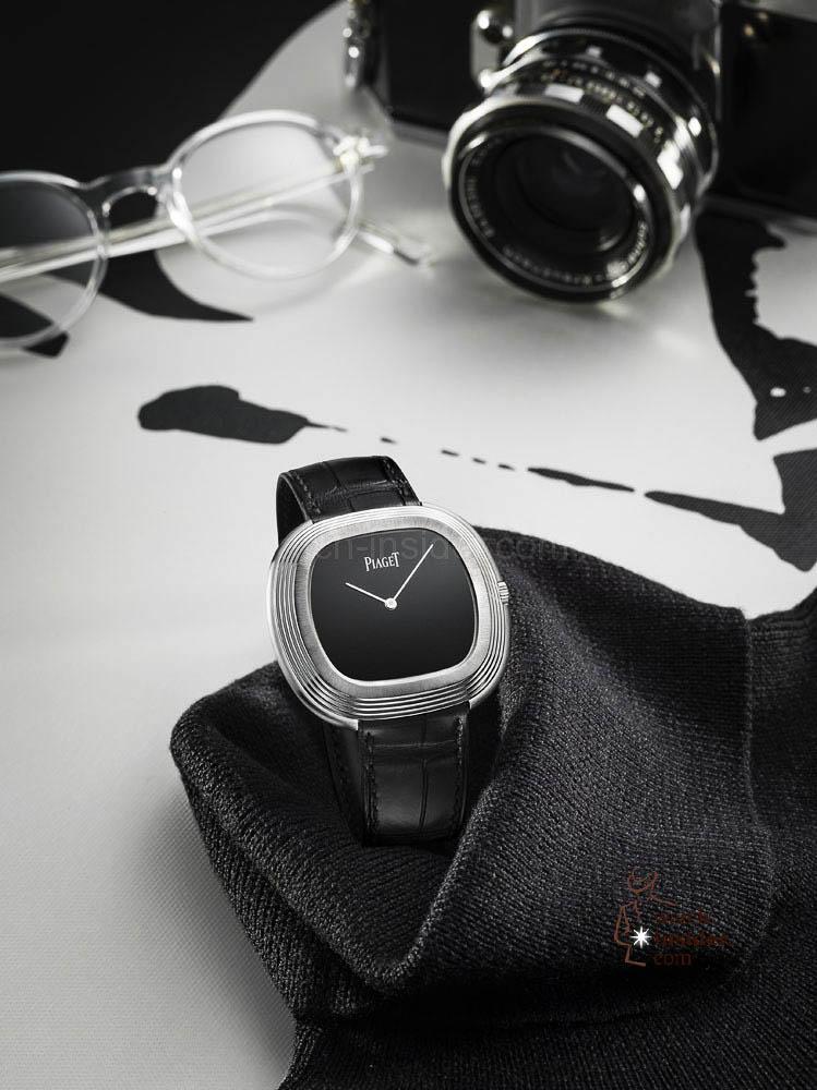 Piaget Black Tie vintage inspiration watch 42x45mm