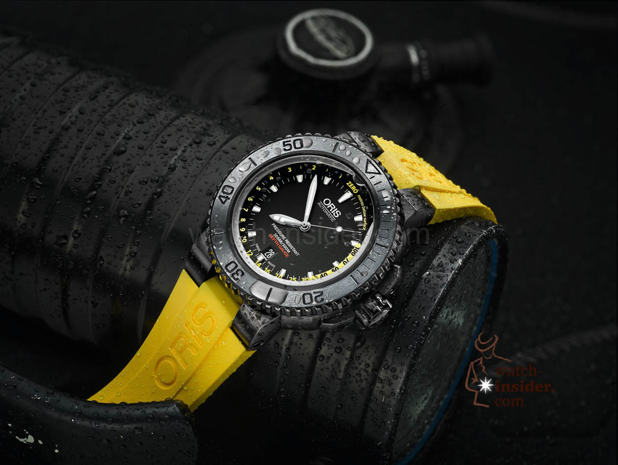 Pre Baselworld 2015 Oris Aquis Depth Gauge With A