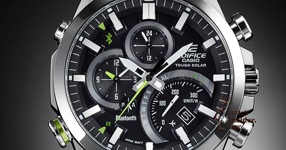 how to change date in casio edifice wr100m