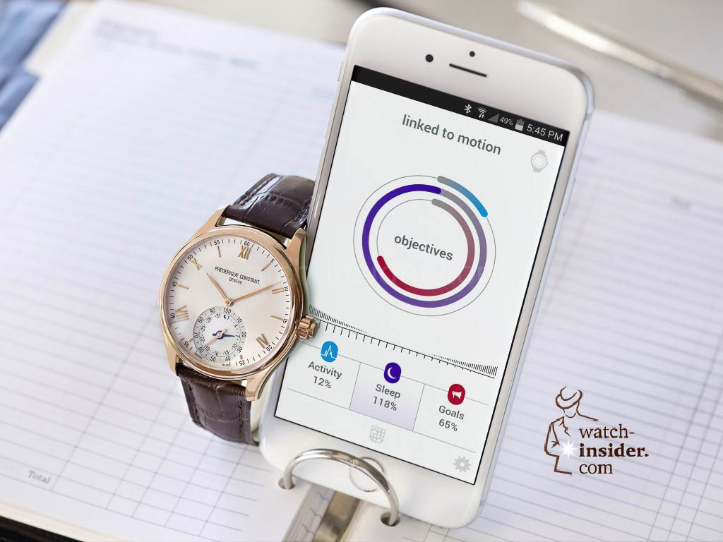 Frédérique Constant Swiss Horological Smartwatches