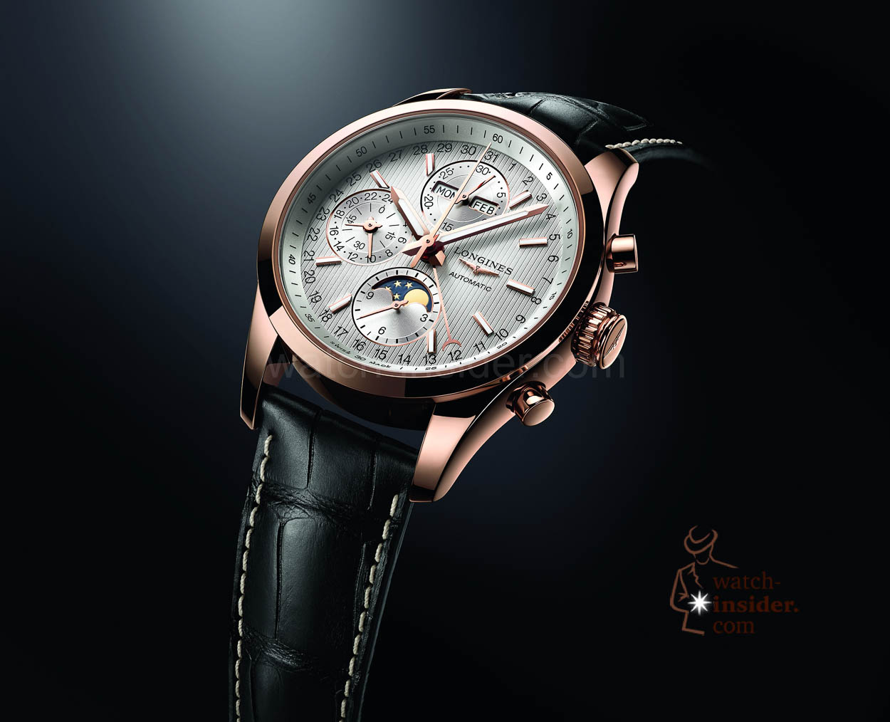 Pre-Baselworld 2015: Longines Conquest Classic Moonphase ...